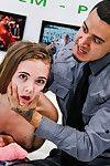 Gina valentina castings slap, fuck, cum!
