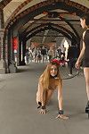 Perky young lullu gun is a alluring little exhibitionist whore together with julliette march