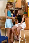 Luscious lesbians rendered helpless sweet adulate juices