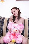 Naked girl thither teddy endure