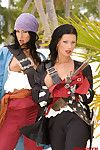 Sexy porn pirates fucking in tropic coitus adventures