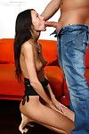 Teen having dealings