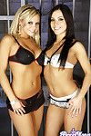 Horny bree olson and mandy more get each change off off