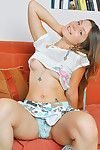 Emily 18 delights in your relevancy increased by she grabs it around their way blue panties increased by h