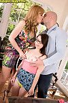 Jennifer matthews and sasha sean sharing tall dick