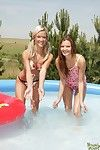 Two beautiful teen hotties effectuation