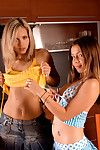 Playful emily has a hot relaxation majority with her girlfriend