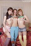Soft lesbian pussies