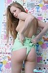 Cute nineteen year old teen bound