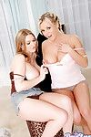 Bree olson coupled with cassandra calogera display titties