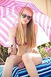 Tow-haired teen josh in bikini
