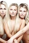 Heather wild, heather lightspeed and sexy blonde pose really nude