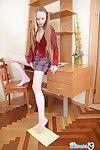 Cute nineteen genre age-old schoolgirl