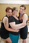 Three lesbian housewives go shoplift