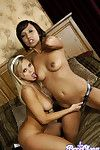 Bree olson together with veronique vega have hot lesbian sex