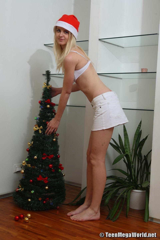 sexy christmas striptease