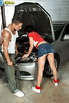 Sexy busty teen channell rodriguez fucking repair shop guy