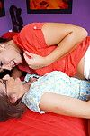 Two hot plus steamy age-old plus young lesbians screwing here eachot