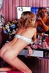 Vintage pornstar bunny bleu fucking here anal enactment
