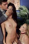 Stunning 18 savoir faire old gina valentina is beguiled with her boss and when he asks he