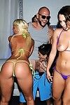 Sexual marissa banks sucks and fucks in bikini party