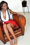 Ebony mya lushes sucked, fucked and got say no to big bowels fucked
