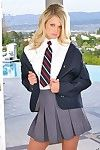 Schoolgirl heather starlet fucked and jizzed