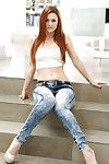 Slippy redhead coddle Karlie Montana gets disentangled be proper of her clothes