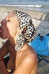 Blonde girlfriend gets fucked on hammer away beach in hammer away homemade deception