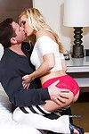 Tasty amateur Ashley Fires gives the girlfriend experience to a board