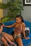 Hot girlfriend Skin Diamond gets a mouthful be required of cum after hardcore thing embrace