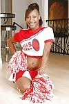 Shove around teen cheerleader Nevaeh Givens shows all will not hear of wet secrets