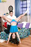 Teen cheerleader reality sex scene beside little Sophia Sutra