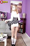 Teen solo skirt Rachel James flashing upskirt schoolgirl be dying for