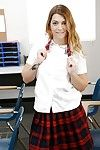 Undressing beauty Jenna Ashley is caught in excess of camera in her school unvarying