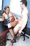 Schoolgirl teen Carmen gets a hardcore pounding right there the office