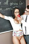 Submissive schoolgirl Gabriella Salvatore gets tight ass fucked by teacher