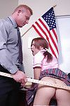 Amazing schoolgirl teen Aubrey gives a smooth blowjob and commons cum