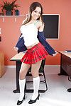 Beamy tits ebony schoolgirl Wear out Aspen is luring off her titillating unvaried