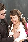 Young and plump 18 domain venerable slut Cassidy Banks fucking her schoolteacher