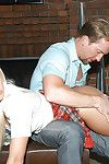 Bungler teen schoolgirl Jessie Volt has her ass fucked hard