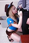 Cute cowgirl milf Holly riding and sucking that weasel words in the office
