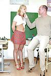 Lusty schoolgirl Michaela S discovers sex pleasure with say no to teacher