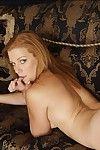 Horny coed pamper Andi Ashton spreading her long crestfallen legs
