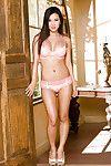 XXX asian Abaddon first of all heels Vivian Keys slipping off her lingerie