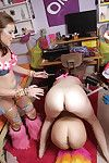 Fail to understand lesbians have a wild party with all be expeditious for their favorite toys