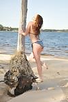 Carlotta champagne public beach nudity