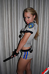 Rachel sexton the raunchy cop does a stripsearch