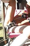 Rachel sexton erotic dance outdoors on her backwards porch