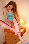 Miniature youthful undresses